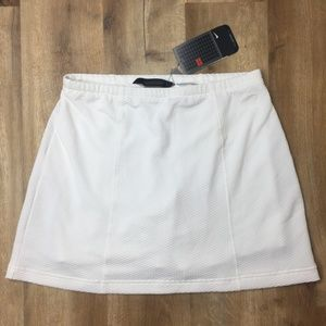 NIKE Sphere White Golf Tennis Skirt M
